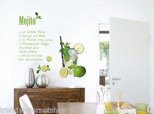 Maxi-Sticker-mural-Mojito-wand-sticker-Komar-Freestyle-Recette-100-x-70-cm-17708
