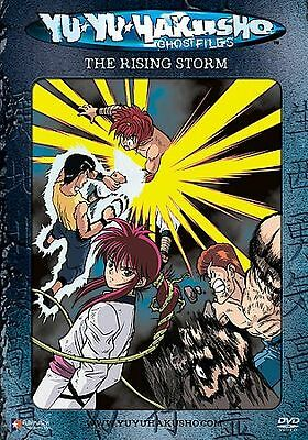 Yu Yu Hakusho Ghostfiles Vol 12 The Rising Storm Dvd Meredith Mccoy Linda Y 704400063336 Ebay