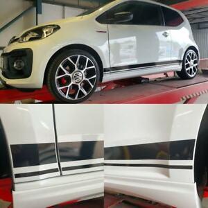 VW-UP-UP-GTi-Skoda-Citigo-Seat-Mii-PANEL-FIT-side-Stripes-Stickers-Decals