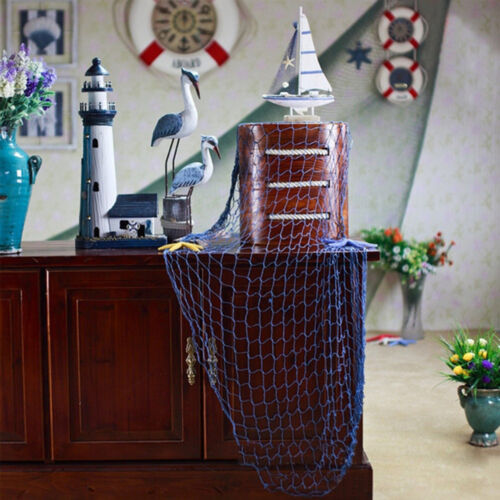 Nautical Fishing Net Seaside Home Bar Wall Beach Party Sea Shells DecorationS!
