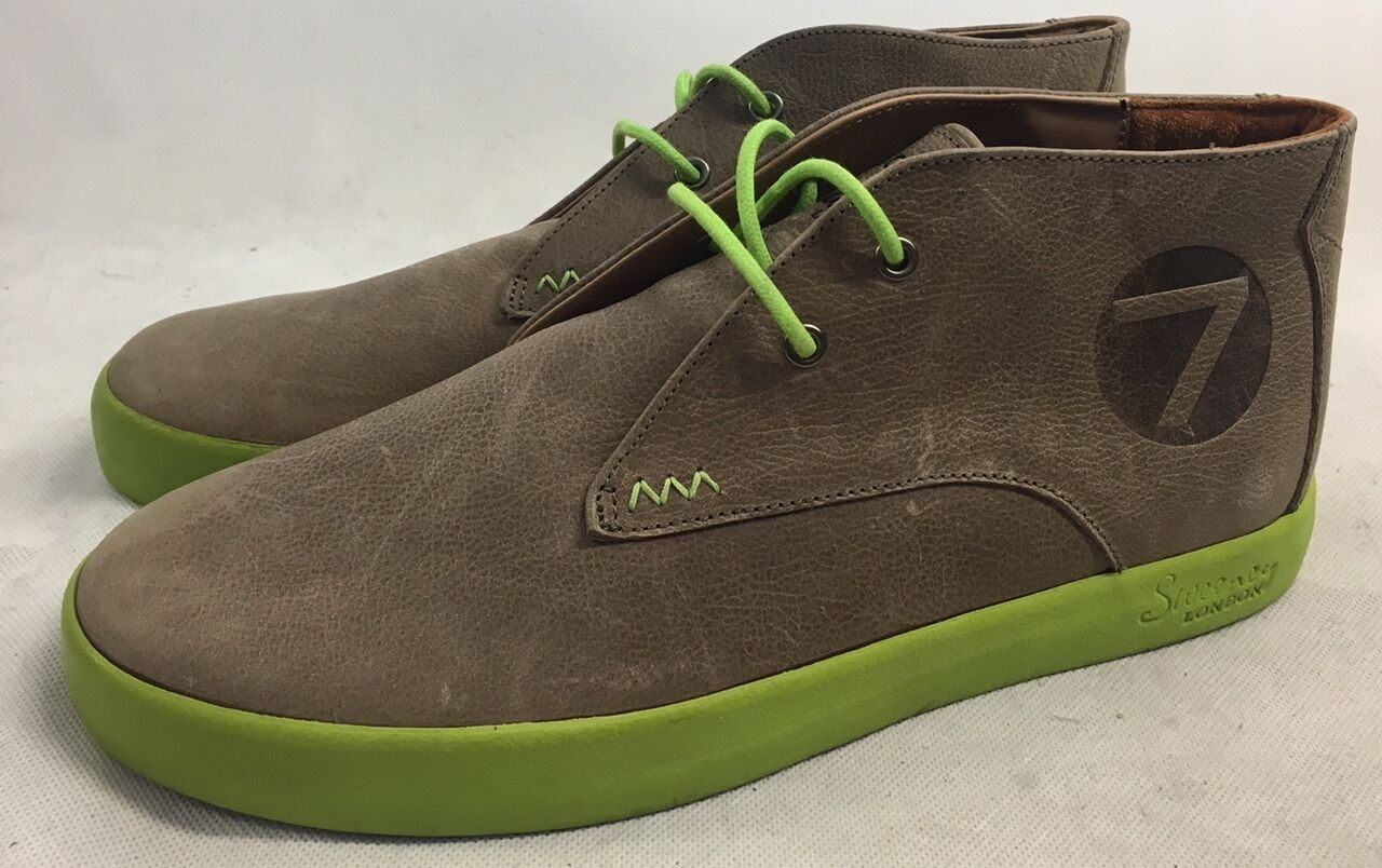 Oliver Sweeney Grey/Brown/Stone Leather Casual Shoes. UK 8.