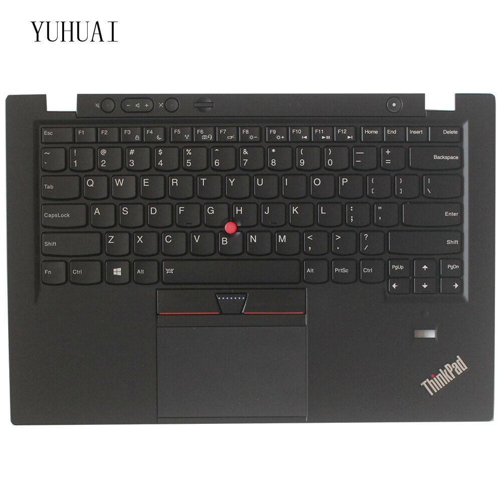 For Lenovo Thinkpad Carbon X1 Gen 1 1st 2013 palmrest Laptop Keyboard Backlit US