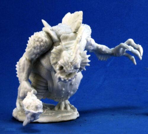 BONES REAPER figurine miniature jdr rpg king 77267 1 x KALLAGUK ROI TROLL