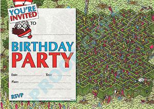 children s birthday party invitations