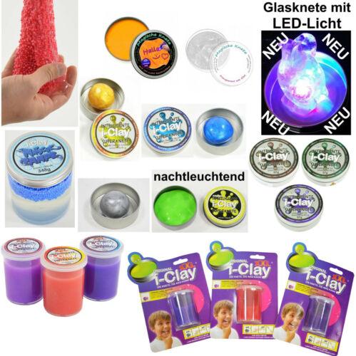 XXL- i-Clay Original Matsche Pampe intelligente Zauberknete Knetmasse LED Licht