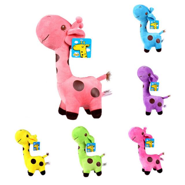 Cute Plush Giraffe Soft Toys Animal Dear Doll Baby Kids Children Gifts Love 1pcs