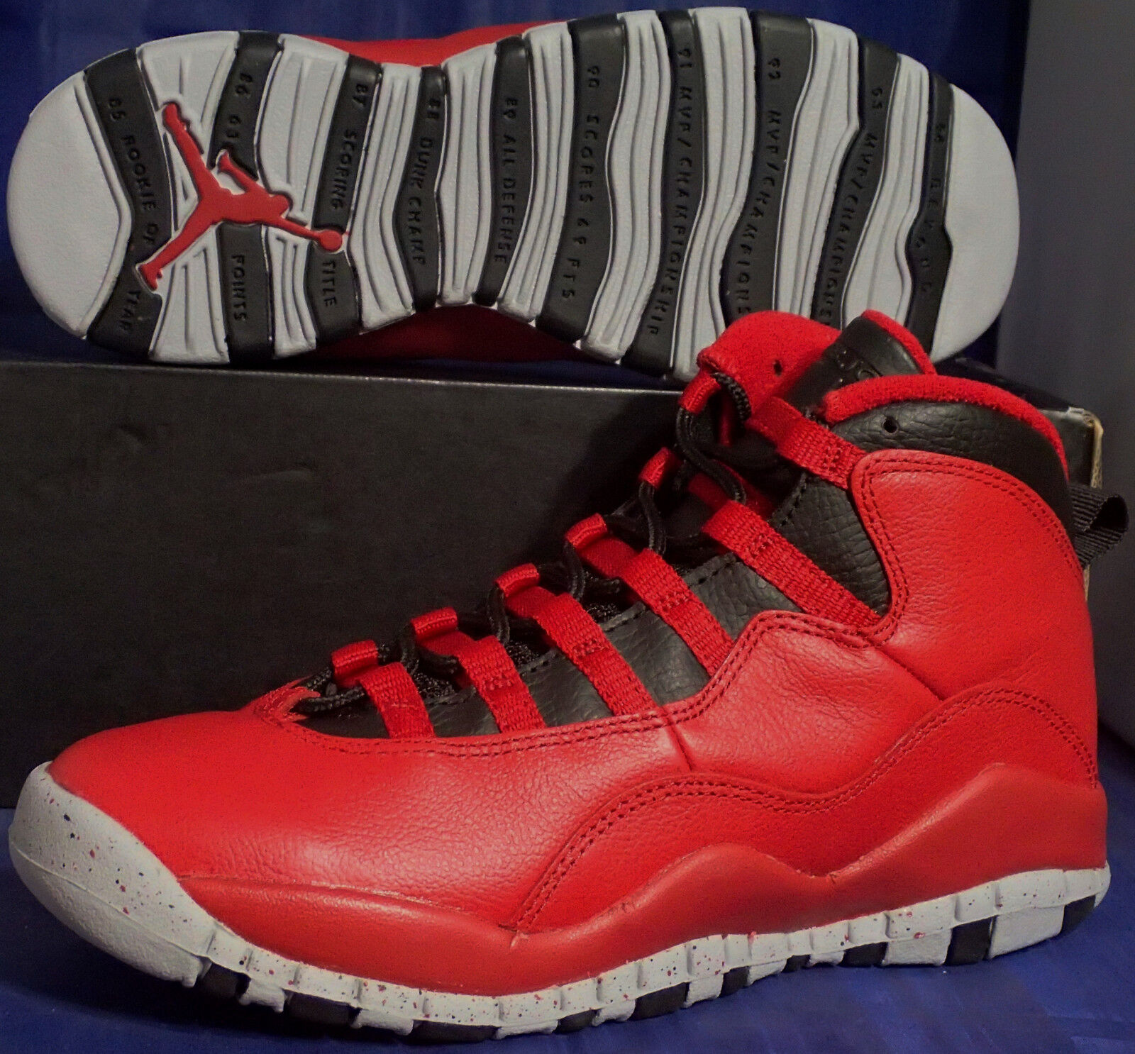 Nike Air Jordan 10 X Retro 9.5 Bulls Over Broadway SZ 9.5 Retro ( 705178-601 ) c99a5f