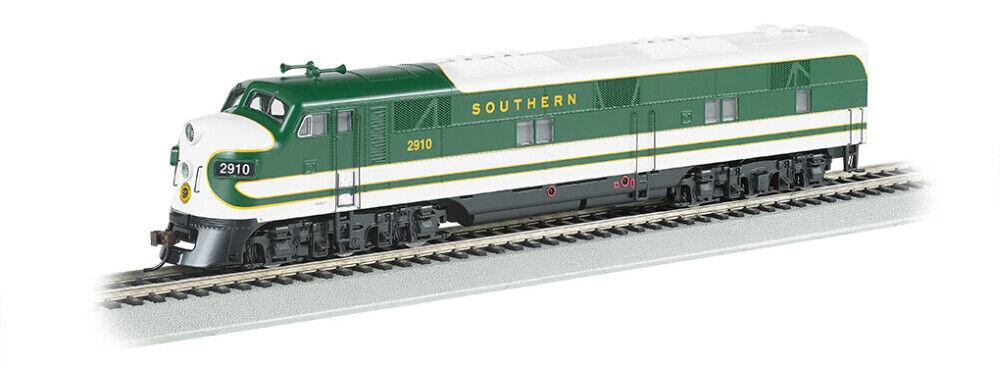 Bachmann EMD E7 con DCC -- FerroCocheril del Sur y sonido (verde, blancoo) - HO