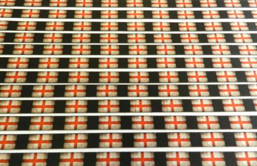 Mini England flag neck strap lanyard for ID//keys 15mm Made in UK  Free UK post