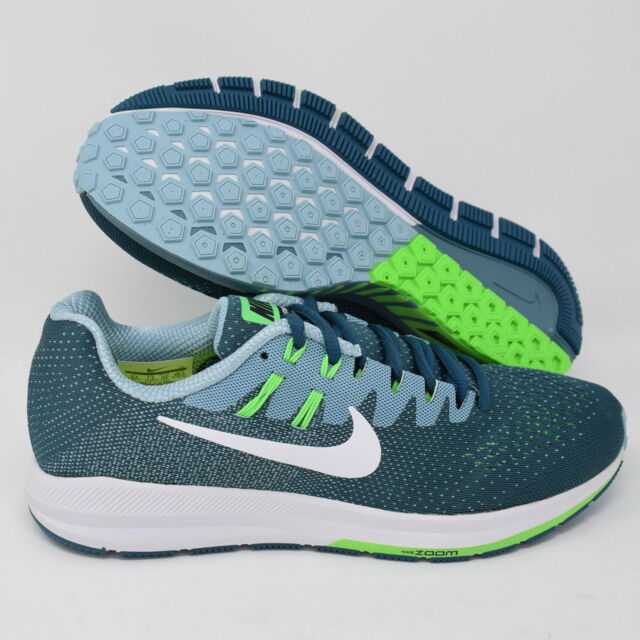 new arrival 89fea 765db Nike Air Zoom Structure 20 849576-402 Mens Running Shoes Blue & White