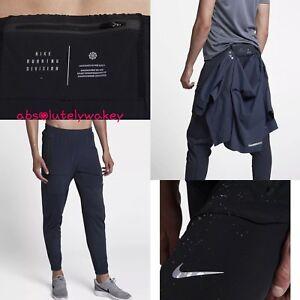 Dettagli su Nike SWIFT WOMEN'S in esecuzione pantaloni 27
