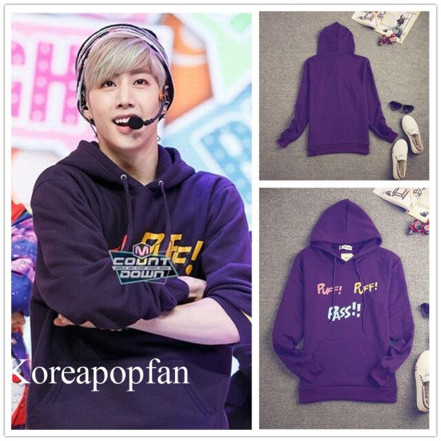 Got7 YOUNGJAE BAMBAM JB MARK JACKSON JR just right 2015 Kpop PURPLE hoodie New