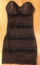 Skinnygirl Solutions Women's Show Don't Tell Lace Shaping Slip - Size Small (S)