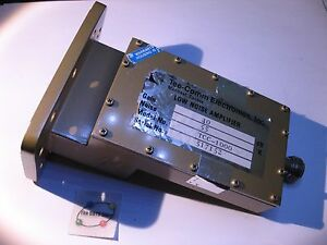 Tee-Comm-TCC-1000-C-Band-Satellite-LNA-Low-Noise-Amplifierr-WR229-USED-Qty-1