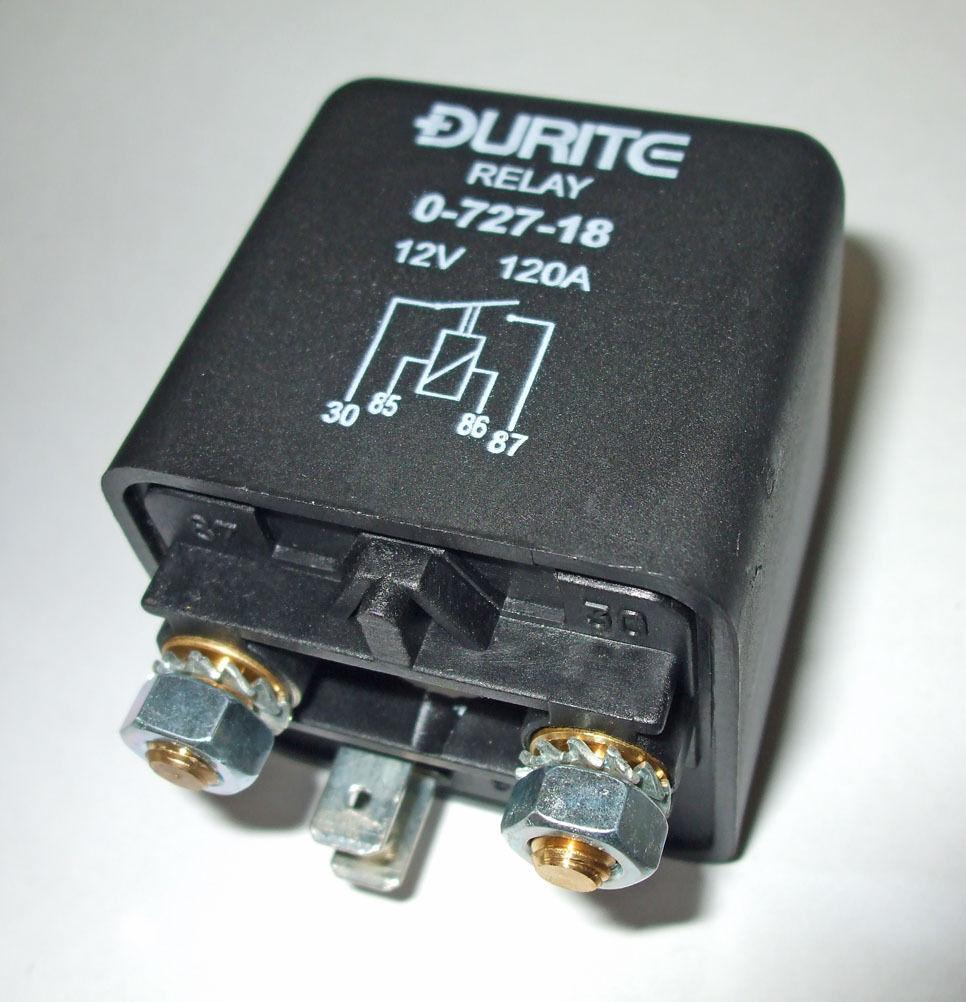 Durite Resistente Relè 12v 120amp SCR12120