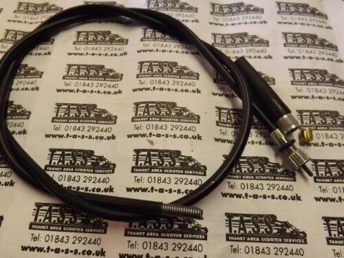 QUALITY ITALIAN CABLE LAMBRETTA GP MODELS  ITALIAN FIT SPEEDO CABLE