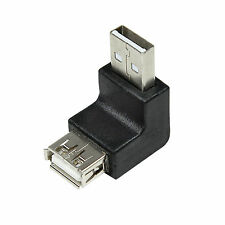 LogiLink USB 2.0-A Stecker auf USB 2.0-A Buchse Winkelstecker 90° Grad AU0025