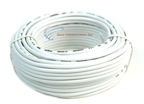 10 Rolls 16 Gauge 50 Feet Remote Primary Trailer Wire LED Power Cable Audiopipe