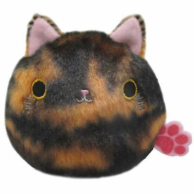 Sanei Boeki Flower Neko Dango Nemophila Cat Plush Doll Japan