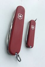 Knife Victorinox Swiss Army - 2 Couteaux -> Classic SD Red + Spartan 91 mm Red