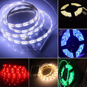 5050 rgb led leuchte leiste strip streifen lichterkette batteriebetrieben lampe ebay. Black Bedroom Furniture Sets. Home Design Ideas