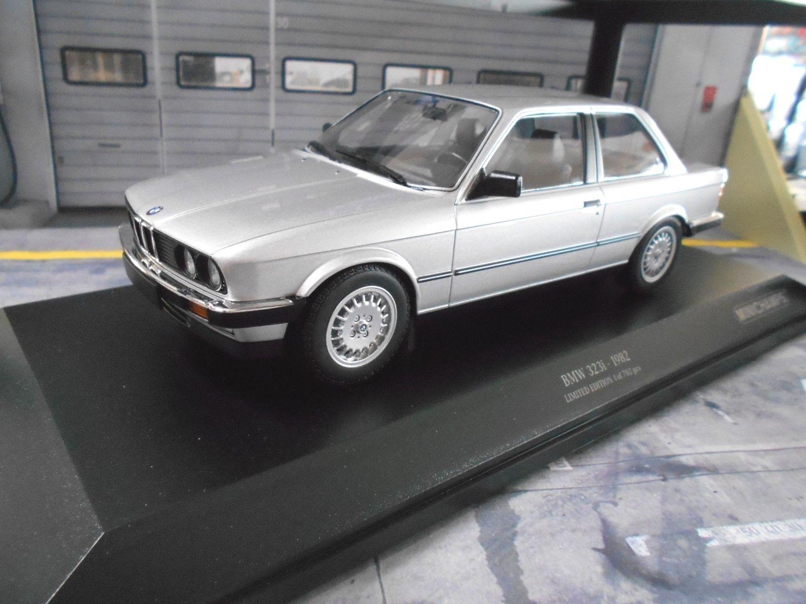 BMW 3er 3 Il Series 323i e30 Limousine Argent 1982 Minichamps 1 18 Miniature