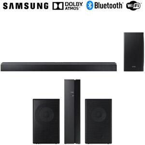 Samsung-Virtual-5-1-2-ch-Soundbar-System-mit-kabellosem-Subwoofer-Lautsprecher-Bundle