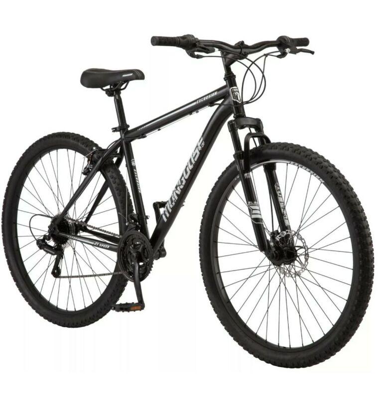 NEW Mongoose Excursion Men Mountain Bike 21-speed 29'' inch Black SHIP FAST