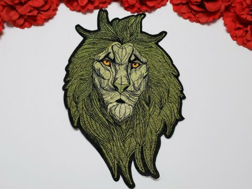 Lion Head patch Iron on Fashion Lion patch