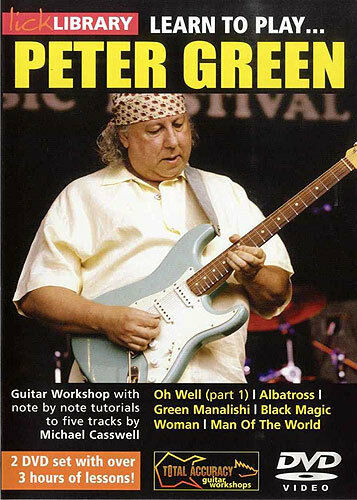 LICK LIBRARY Learn To Play PETER GREEN Albatross Blues Rock GUITAR DVD