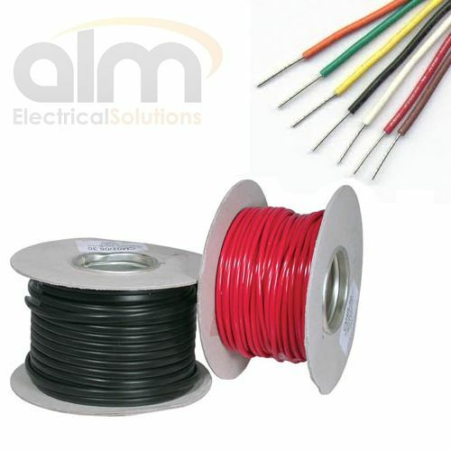 2.5mm Thinwall Tinned Cable 29 Amp 35 0.30 Auto & Marine All Lengths and Colours