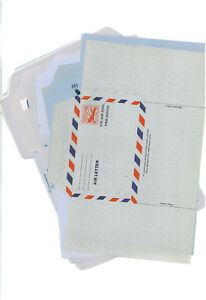 24 Different Lot US Aerogram Aerogramme Air Letter Unfolded Covers ...