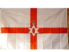 2 x orange standard  car flag northern ireland loyalist orange order