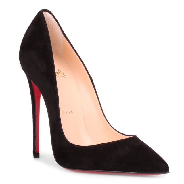 competitive price fa84d 428b4 Christian Louboutin so Kate 120mm Patent Pump Black Size 37
