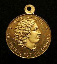 Frankreich, Tragbare Medaille 1870, Honneur aux Mobiles, R!