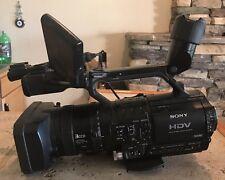 Sony HVR-Z1U NTSC/PAL HDV 3CCD Camcorder BATTERY LOW HOURS