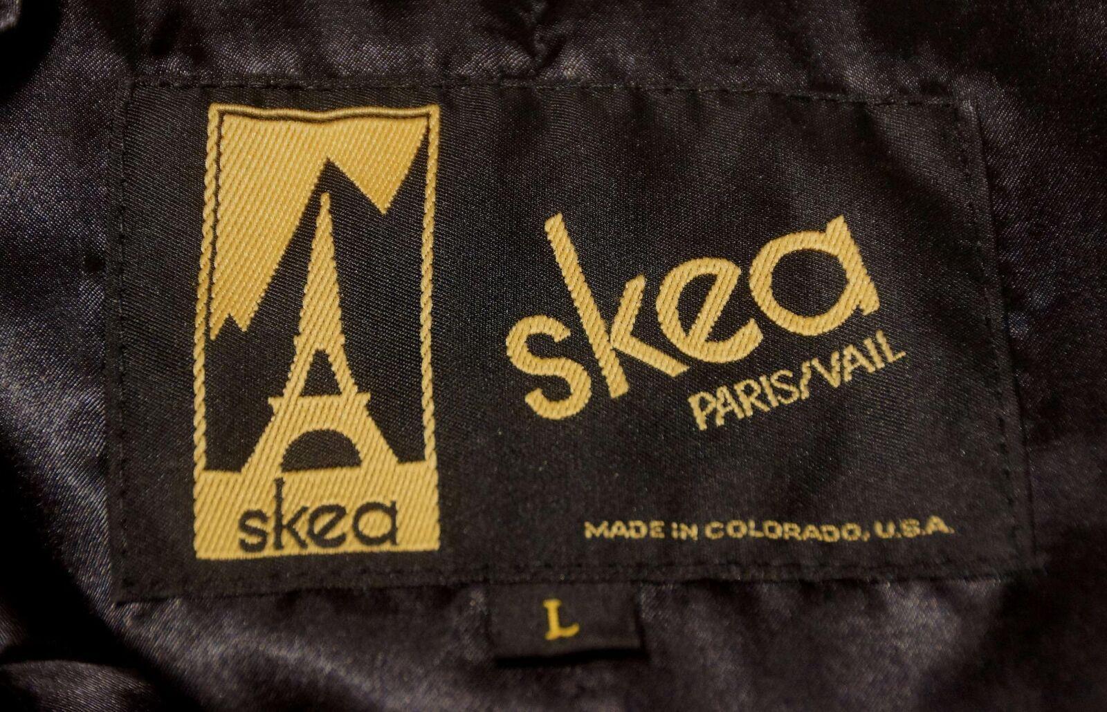 Nice Multi-colord ORange Based Floral SKEA Vest Made in colorado colorado colorado Sz L 0a5102