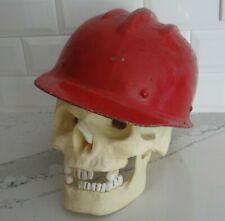 Vtg Bullard Hard Boiled Original Safety Hat Hard Hat Withliner Fiberglass Rare