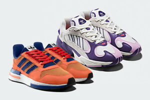 official photos ff8b4 994e8 Details about Dragon Ball Z x Adidas YUNG ~ 1 DB Freeza & ZX500 RM Gokou  2Set Size 9 Limited