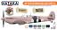 Hataka Hobby Paints RAF PHOTO RECONNAISSANCE COLORS Orange Line Lacquer Paints
