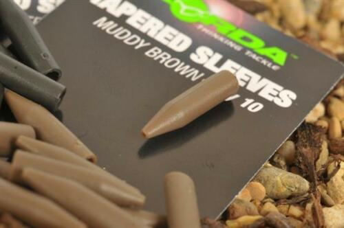 Korda Tapered Silicone Sleeves All Colours