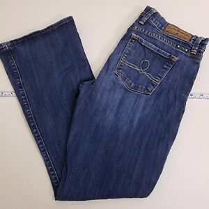 Lucky-Brand-Sofia-Boot-Cut-Jeans-Women-039-s-Size-10-30-Blue-Denim-Medium-Wash