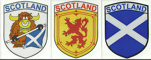 Set-of-3-Scotland-Scottish-Flag-Internal-Car-Window-Sticker-Decals