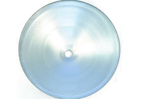 Details about Galvanized Metal Spun Deer Feeder Funnel for 55 Gallon Drums