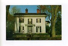 Groton MA Mass George Boutwell House, vintage postcard