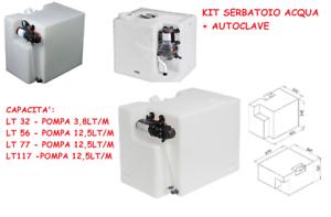 Kit-serbatoio-acqua-PET-con-Autoclave-Europump-Barca-Camper-caravan-12v-doccetta