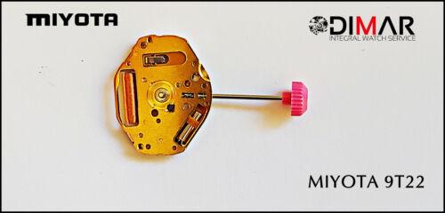 MOVIMIENTO MIYOTA CAL.9T22 SUPER SLIM.