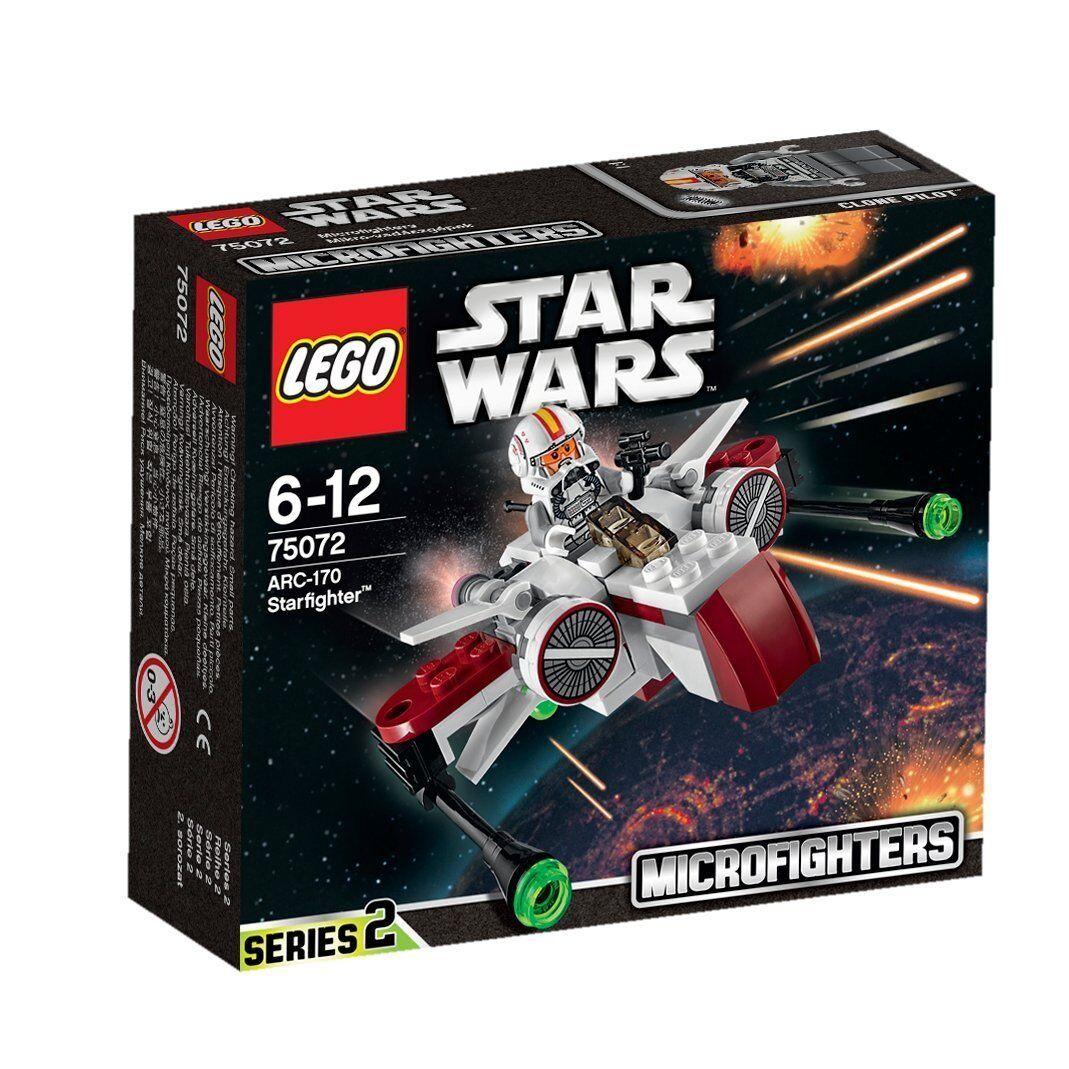 Lego Star Wars 75072 ARC-170 STARFIGHTER Microfighters Clone Pilot Micro NISB