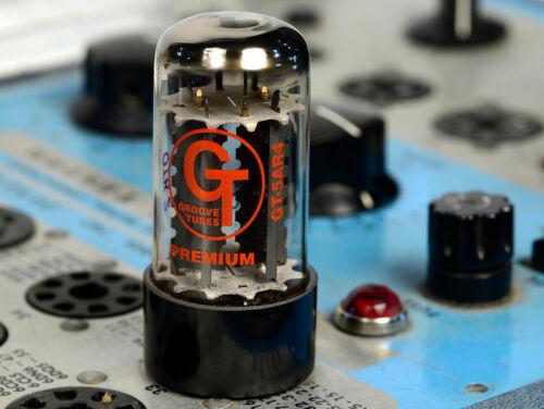 Groove Tubes GT-5AR4 GZ34 Rectifier Tube For Fender Vox Ampeg Dynaco Marshall