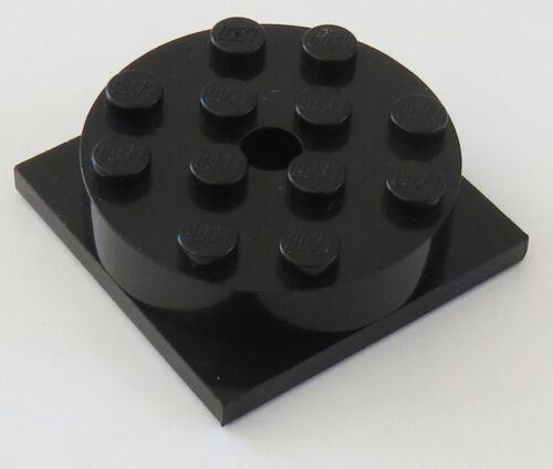 schwarz #3403c01 LEGO Drehscheibe / Turntable 4 x 4 Basis mit Aufsatz 2 Stück